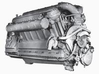 Судовой дизельный двигатель М50Ф