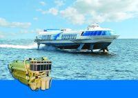 Судовые V-образные дизельные двигатели для судна на подводных крыльях «Метеор» (пр. 342)
